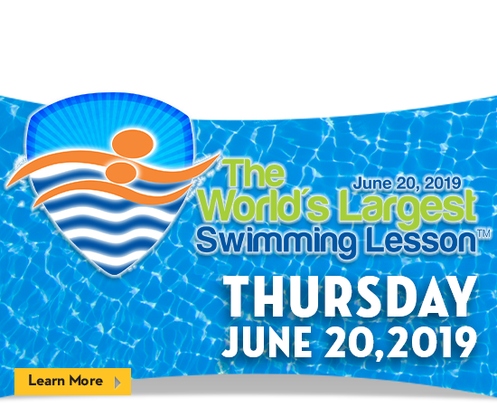 World's Largest Swimming Lesson 2019