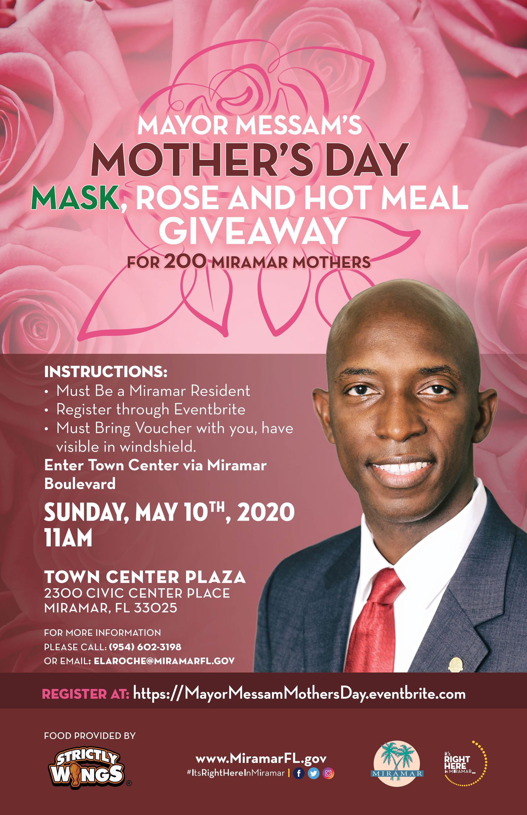 Mayor Messam Mothers Day