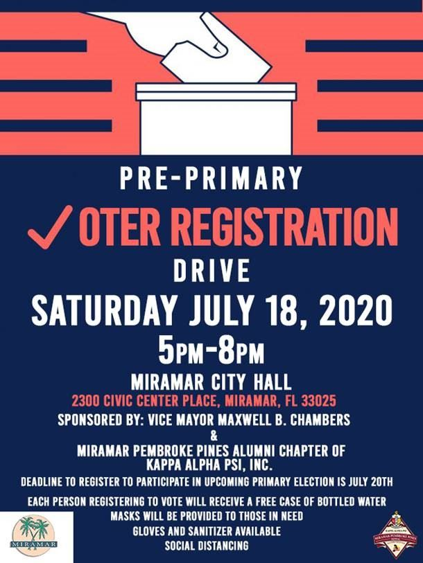 Chambers Voter Registration