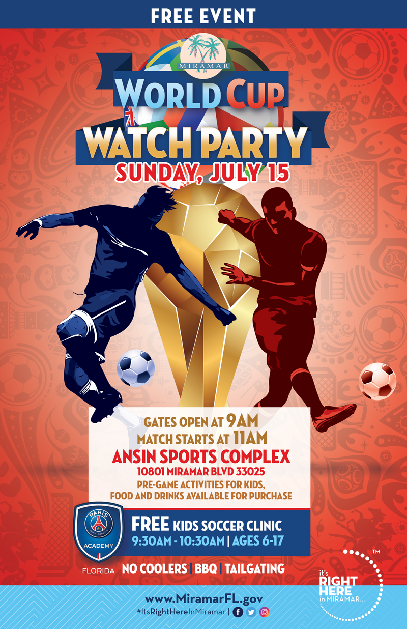 World Cup Watch Party Flyer