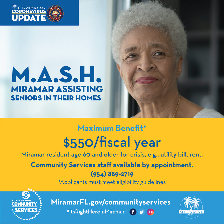 MASH - Miramar Assisting Seniors in their Homes flyer