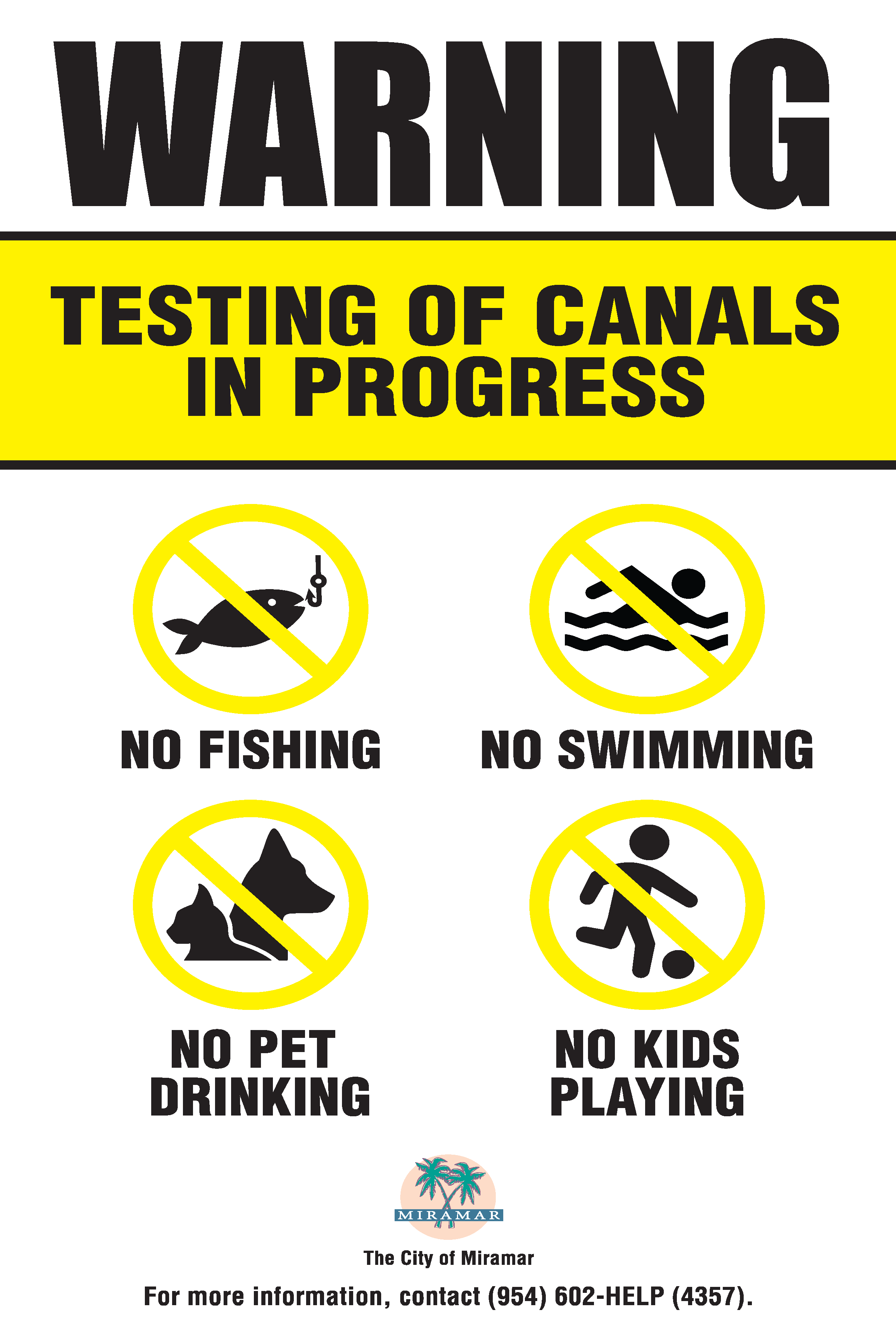 CCR Canal Signage